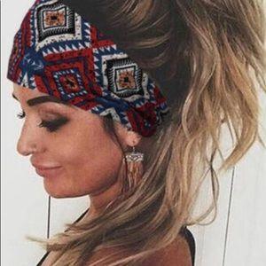 """HIPPIE"" Wide Boho Headband"